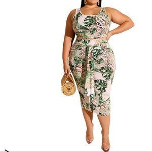 💥💥New Arrival Plus Size Skirt Set!💥💥